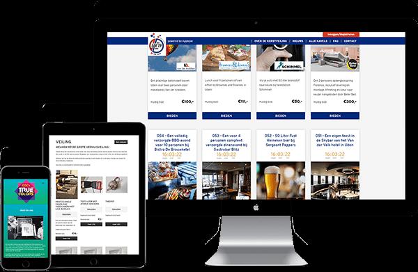 Onze veiling online. De krachtige, snelle, eenvoudige en zelf te beheren online veiling tool voor het online veilen van goederen en diensten.