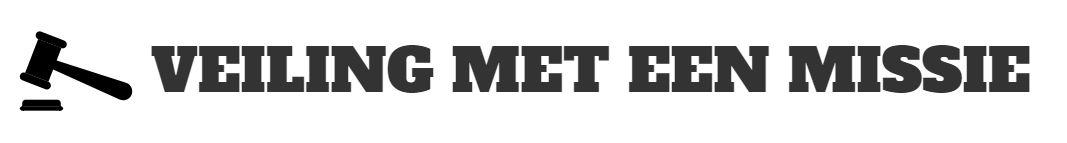 Logo Veiling website Veiling met een missie